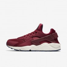 Nike Air Huarache Lifestyle Shoes For Men Red/Navy/Red 318429-608