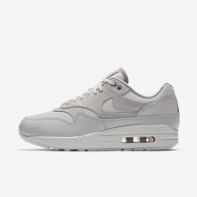 Nike Air Max 1 Lifestyle Shoes For Women Grey/White/Grey 454746-017