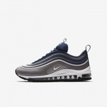 Nike Air Max 97 Ultra Lifestyle Shoes For Girls Dark Grey/Rose/Navy/White 917999-003