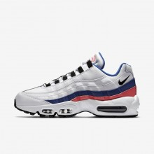 Nike Air Max 95 Lifestyle Shoes For Men White/Red/Black 749766-106