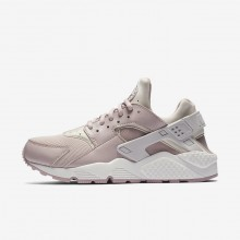 Nike Air Huarache Lifestyle Shoes For Women Grey/White/Rose 634835-029