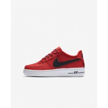 Nike Air Force 1 Lifestyle Shoes For Boys Red/White/Black 820438-606