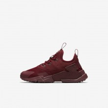 Nike Huarache Lifestyle Shoes For Boys Red/White AA3503-600