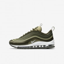 Nike Air Max 97 Ultra Lifestyle Shoes For Boys Khaki/Olive/White 917998-300