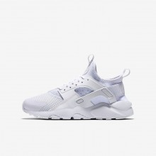 Nike Air Huarache Ultra Lifestyle Shoes For Boys White/White 847569-100