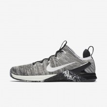 Nike Metcon DSX Flyknit 2 Training Shoes For Men Silver/Light Silver 924423-001