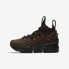 Nike LeBron 15 Basketball Shoes For Boys Multicolor/Black 943762-900