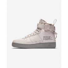 Nike SF Air Force 1 Lifestyle Shoes For Women Grey Red/Grey Red AA3966-600