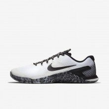 Nike Metcon 4 Training Shoes For Men White/Black AH7453-101