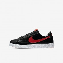 Nike Blazer Lifestyle Shoes For Girls Black/Coral/Red AO1033-001