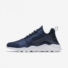 Nike Air Huarache Ultra Lifestyle Shoes For Women Navy/Obsidian/White/Blue 819151-404