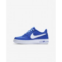 Nike Air Force 1 Lifestyle Shoes For Boys Royal/White 820438-403