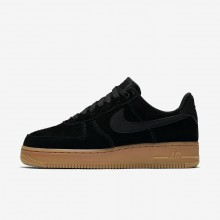 Nike Air Force 1 Lifestyle Shoes For Women Black/Brown/White/Black AA0287-002