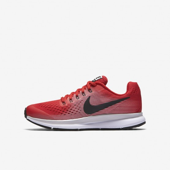 Nike Zoom Running Shoes Boys Speed Red/Vast Grey/Black/Anthracite 881953-601