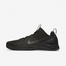 Nike Metcon DSX Flyknit 2 Training Shoes For Men Black/Red/Black 924423-004