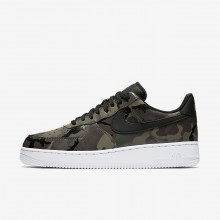 Nike Air Force 1 Lifestyle Shoes For Men Olive/Brown/Black 823511-201