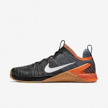 Nike Metcon DSX Flyknit 2 Training Shoes For Men Black/Red/Dark Grey/White 924423-005