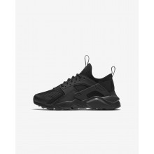 Nike Air Huarache Ultra Lifestyle Shoes For Boys Black 847569-004