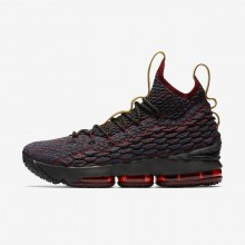 Nike LeBron 15 Basketball Shoes For Women Dark Turquoise/Red/Brown 897648-300