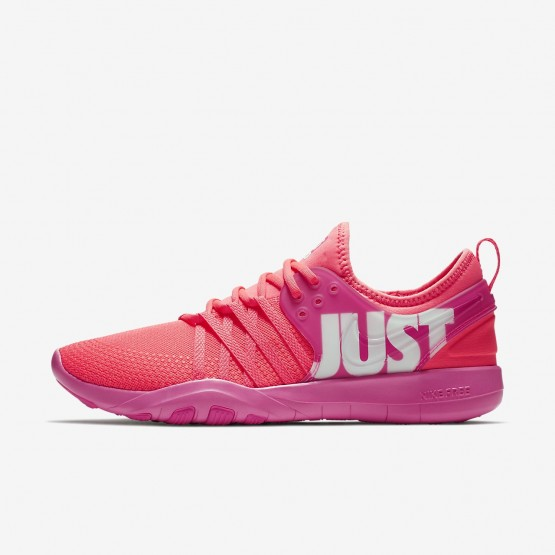 Nike Free Trainer 7 Premium Training Shoes For Women Pink/White 924592-601