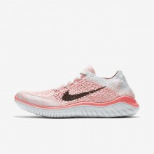 Nike Free RN Flyknit Running Shoes For Women Red/Platinum/Purple/Black 942839-800