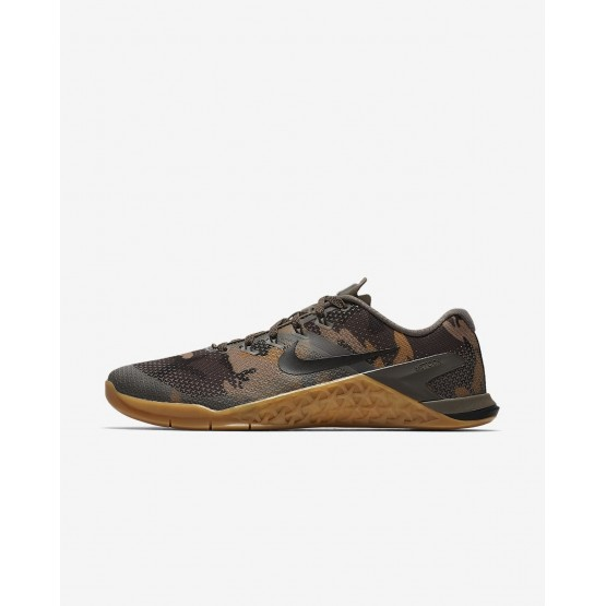 Nike Metcon 4 Training Shoes For Men Gold/Black AH7453-207