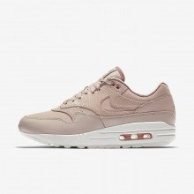 Nike Air Max 1 Lifestyle Shoes For Women Beige/Pink/White/Beige 454746-206