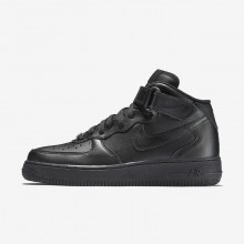 Nike Air Force 1 Lifestyle Shoes For Women Black 366731-001