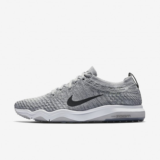 Nike Air Zoom Training Shoes Womens Wolf Grey/White/Anthracite 922872-002