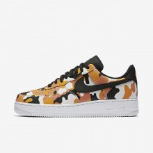 Nike Air Force 1 Lifestyle Shoes For Men Orange/Light Brown/Black 823511-800