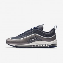 Nike Air Max 97 Ultra Lifestyle Shoes For Men Navy/Dark Grey/White 918356-402