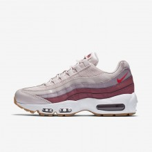 Nike Air Max 95 Lifestyle Shoes For Women Rose/White 307960-603