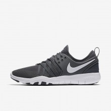 Nike Free TR Training Shoes For Women Dark Grey/White 904651-002