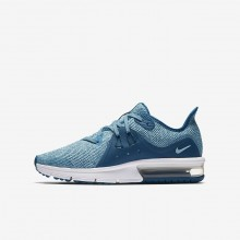 Nike Air Max Sequent 3 Running Shoes For Girls Green/Light Turquoise/White 922885-300