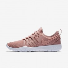 Nike Free TR Training Shoes Womens Rust Pink/White/Coral Stardust 904651-604