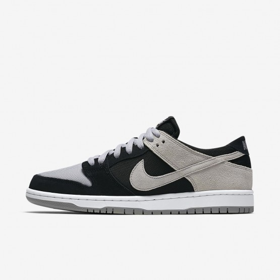 Nike SB Dunk Low Pro Skateboard Shoes For Men Black/White/Grey 854866-001