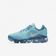 Nike Air VaporMax Running Shoes For Boys Light Turquoise/Light Turquoise/Blue 917962-402