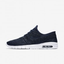 Nike SB Stefan Janoski Max Skateboard Shoes For Men Obsidian/Gold/Obsidian 631303-447