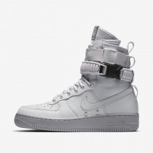 Nike SF Air Force 1 Lifestyle Shoes For Women Grey/Grey 857872-003