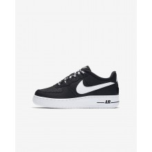 Nike Air Force 1 Lifestyle Shoes For Boys Black/White 820438-015