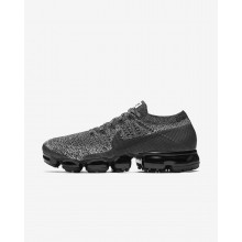 Nike Air VaporMax Flyknit Running Shoes For Men Black/White/Blue/Black 849558-041