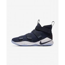 Nike LeBron Soldier XI Basketball Shoes Womens College Navy/White/Team Red/College Navy 897644-401