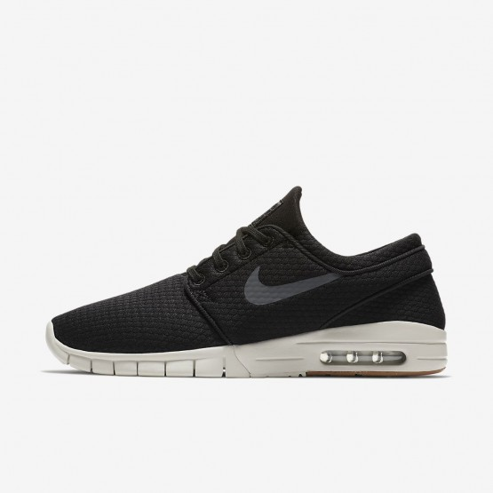 Nike SB Stefan Janoski Max Skateboard Shoes For Men Black/Brown/Dark Grey 631303-020