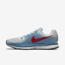Nike Air Zoom Running Shoes For Men Grey/Blue/Red 880555-016