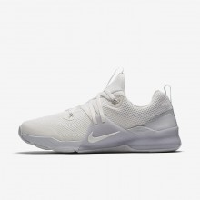 Nike Zoom Training Shoes For Men White/Platinum 922478-100