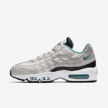 Nike Air Max 95 Lifestyle Shoes For Men Black/White/Turquoise 749766-027