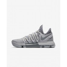 Nike Zoom KDX Basketball Shoes Womens Wolf Grey/Cool Grey 897815-007
