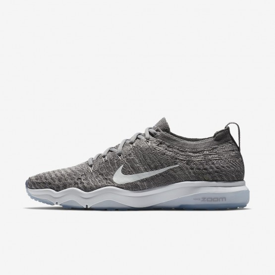 Nike Air Zoom Training Shoes For Women Grey/White 922872-005