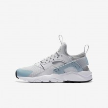 Nike Air Huarache Ultra Lifestyle Shoes For Boys Platinum/White 847568-011