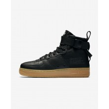 Nike SF Air Force 1 Lifestyle Shoes For Women Black/Light Brown/Black AA3966-002